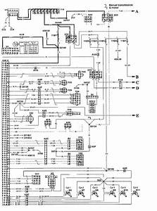 Volvo S90  1997 - 1998  - Wiring Diagrams