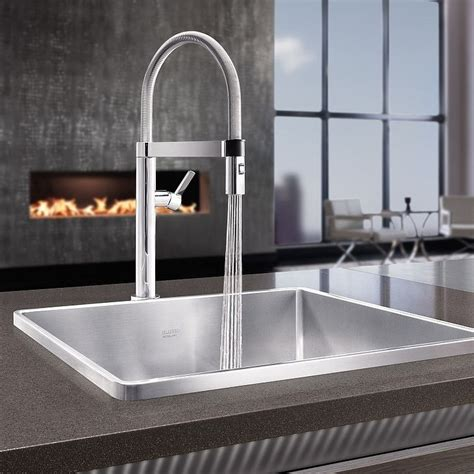 Kitchen Sink With Taps by Blanco Culina S Mini Kitchen Tap