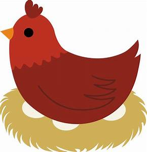 Hen On Nest Clipart | Clipart Panda - Free Clipart Images