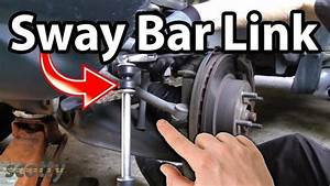 How To Stop Car Clunks  Sway Bar Bushing And Links