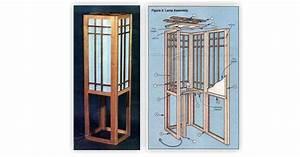 Shoji Screen Lamp Plans • WoodArchivist