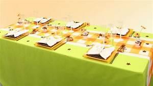 Orange Et Vert Dunkerque : decoration de table mariage decoration mariage astuces ~ Dailycaller-alerts.com Idées de Décoration