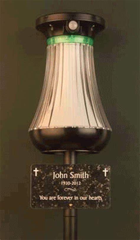 solar memorial lights
