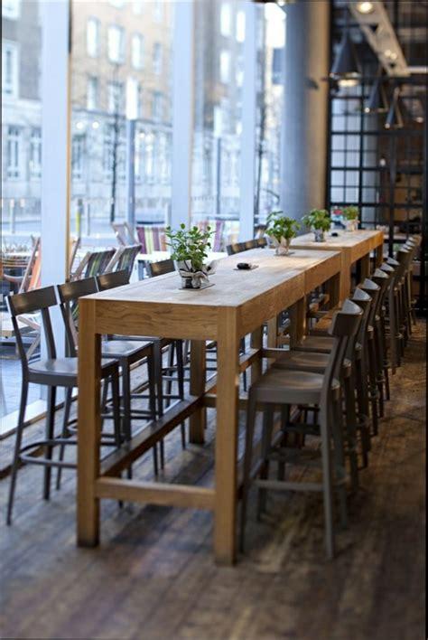 table haute cuisine oak table cafe phase design reza feiz designer wired cafe