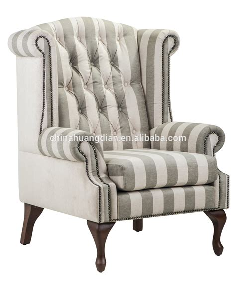 high  wing chair sofa antique living room furniture