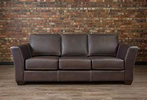 The aspen collection sofa boss leather sofa canada for Leather sectional sofa bed canada
