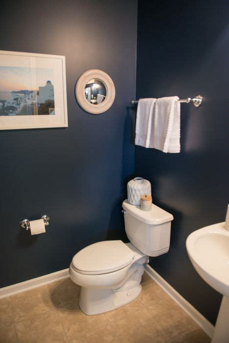 deep rich navy walls  naval sw  white accents