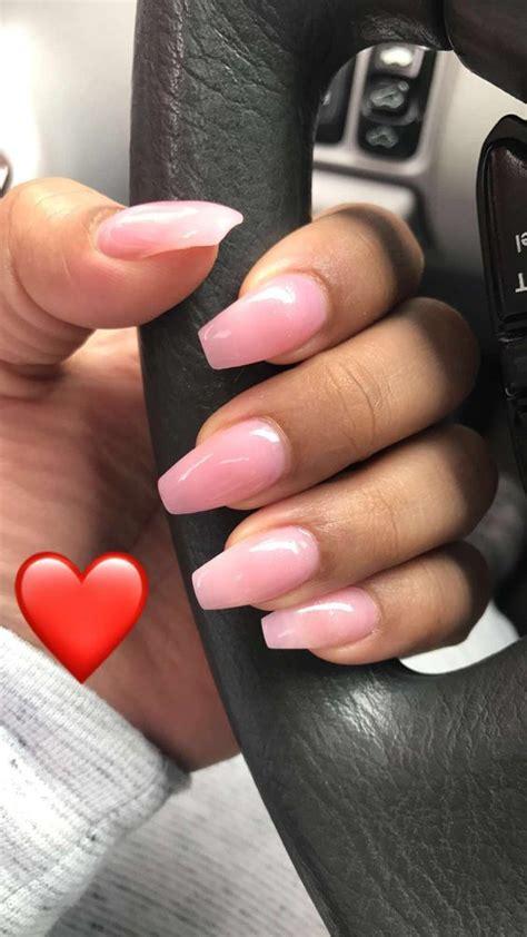 summer acrylic coffin nails designs  nails pink