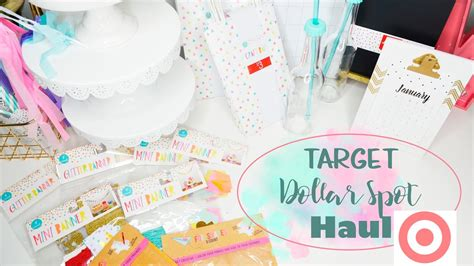New ♡ Target Dollar Spot ♡ Haul!!!  Youtube