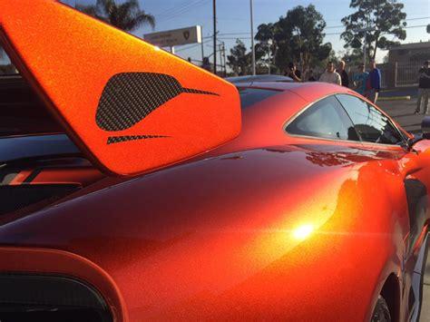 Volcano Orange Mclaren Mso Hs At Newport Beach
