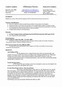 Google resume examples resume badak for Google resume examples