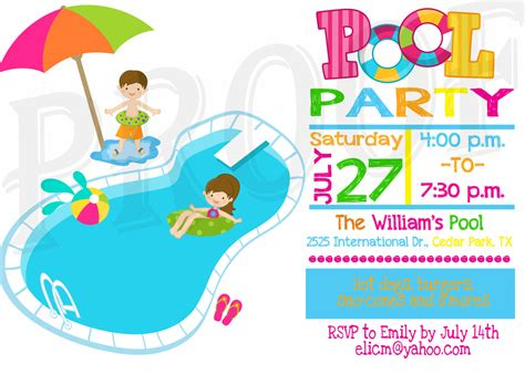 Free Printable Birthday Pool Party Invitations Templates. Simple Loan Contract Template. Personal Info Forms Template. Excellent Business Consultant Sample Resume. Invoice Template For Excel. Careers For Mba Graduates. Dresses To Wear Under Graduation Gown. Social Media Graphics. In Kind Donation Receipt Template