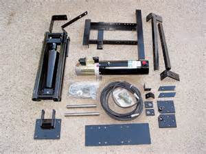 pierce 2 ton pick up truck dump kit installation