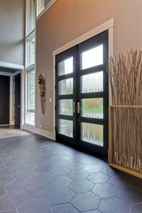 custom wood front entry doors custom modern wood double