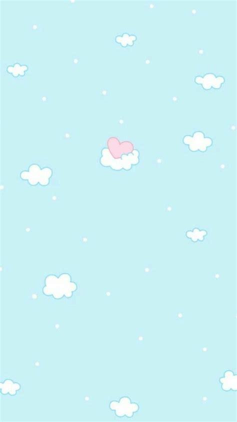 Aesthetic Pastel Home Screen Kawaii Wallpaper by Kawaii Pastel Blue Wallpapers Top Free Kawaii Pastel