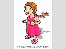 Cartoon Little Girls Clipartsco