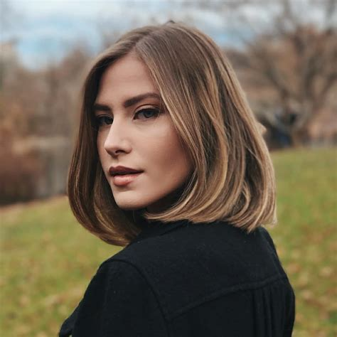 classic shoulder length haircut ideas red alert