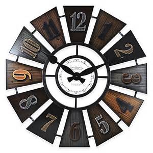 firstime 174 windmill wall clock bed bath beyond