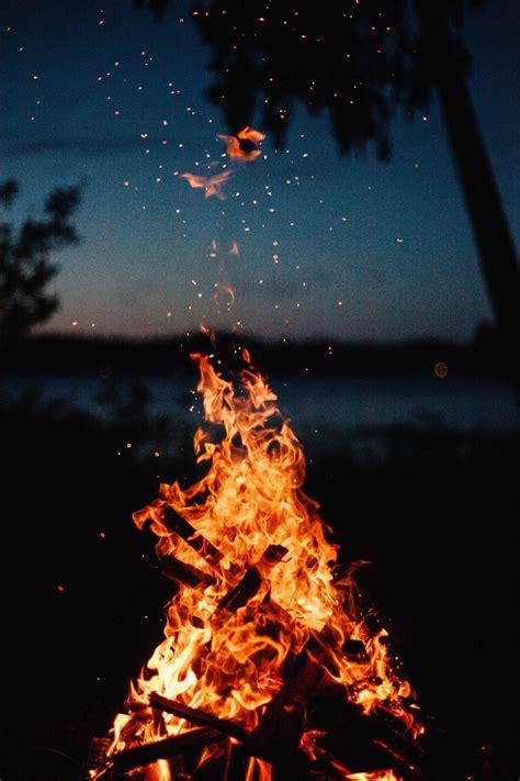 close view  bonfire photo  fire image  unsplash