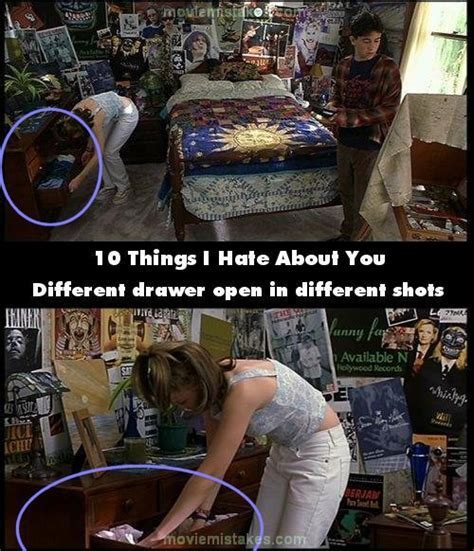 10 Things I Hate About You (1999) Movie Mistake Picture (id 10