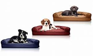 furhaven deluxe quilted sofa style orthopedic pet bed With sofa style orthopedic pet bed