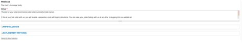 drupal commerce order message template drupal commerce how to include order details in email