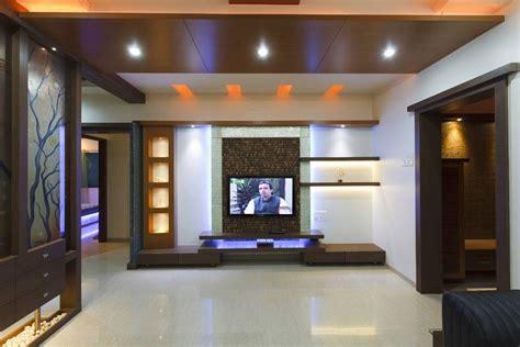 Interior Designs For Living Room, Tv Room Interiors, Pune