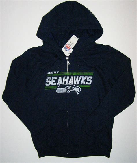 nfl seattle seahawks womens distressed light weight full