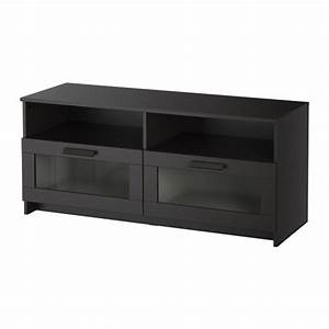 brimnes meuble tele noir ikea With meuble noir ikea