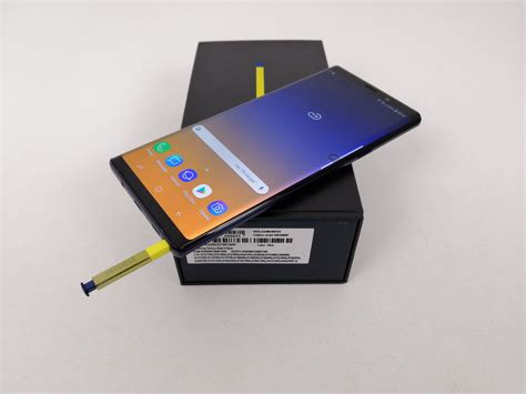 samsung galaxy note 9 unboxing heavier more