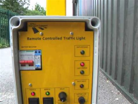 remote control traffic light ts remote control traffic light fixed installation youtube