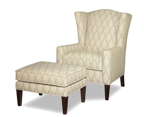 occasional chair and ottoman craftmaster accent chairs wing chair and ottoman with wide