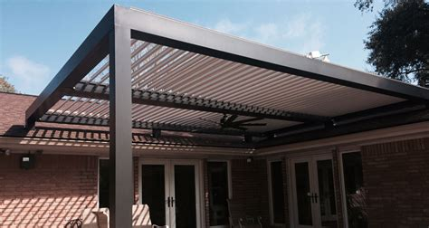 american awning of texas adjustable roof patio cover