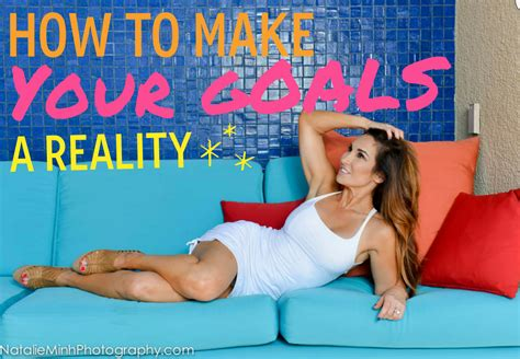 how to make your goals a reality video natalie jill fitness
