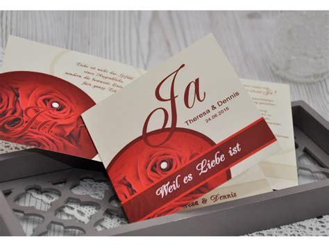 einladungskarten hochzeit hochzeitskarte rot
