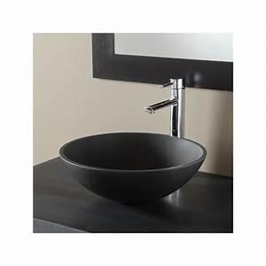 meuble de salle de bain simple vasque en pierre 611009 With salle de bain design avec vasque pierre
