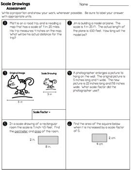 Scale Drawings Worksheet Answer Key 7th Grade Math Practice With Lesson Scale Best Free