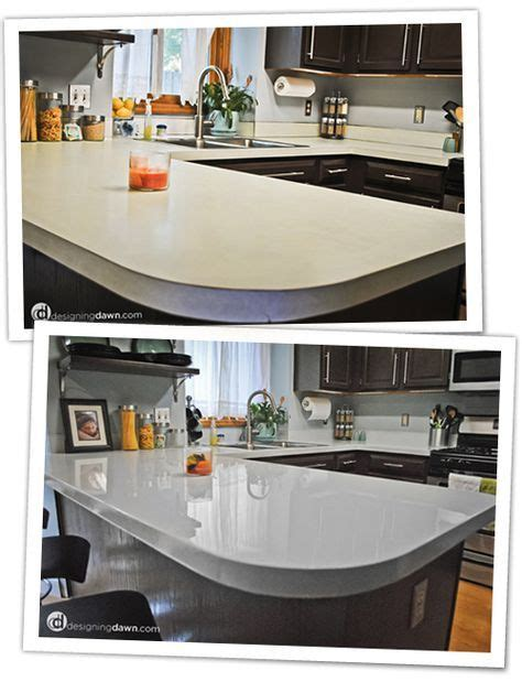 mixing kitchen cabinets diy glossy painted counters diy countertops the o jays 4175