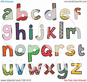 alphabet word clipart 83 With word art letters