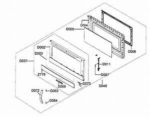 Door Assy Diagram  U0026 Parts List For Model Smh9187stxaa Samsung