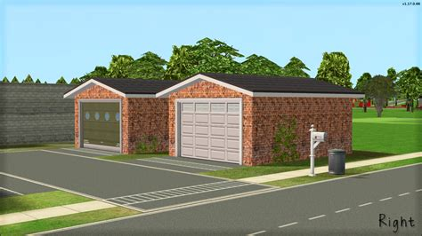 sims 3 garage mod the sims rotatable garage doors