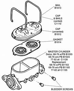 Master Cylinder Assembly - Diagram View