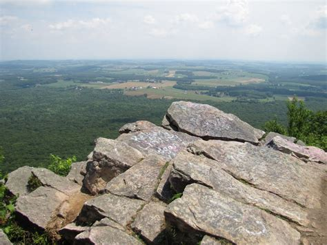 bake oven knob panoramio photo of bake oven knob south lookout view east