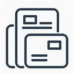 Web Icon Template Templates Mail Layout Icons