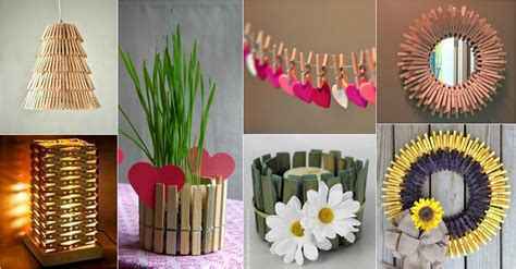 Diy Creative Clothespin Crafts That Will Impress You Leon's Living Room Furniture Interior Design White Unique Ideas Pinterest Painting Wood Paneling Tile Kitchen Collection Store Hours Color With Black For Minecraft