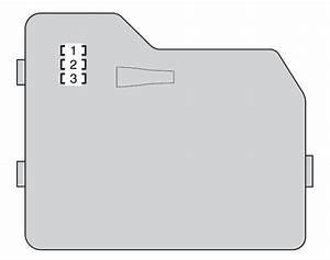 Toyota Highlander Hybrid  2008  - Fuse Box Diagram