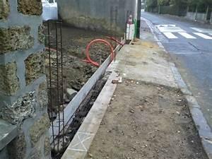 Ferraillage Fondation Mur De Cloture : fondation mur cloture fondation mur local technique le ~ Dailycaller-alerts.com Idées de Décoration