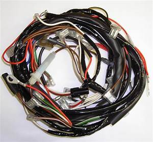 Triumph T100  T120  U0026 Tr6 Motorcycle Wiring Harness
