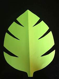 green jungle leaf template comments baby shower decor With jungle leaf templates to cut out