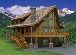 hillside cabin plans hillside house plans smalltowndjs